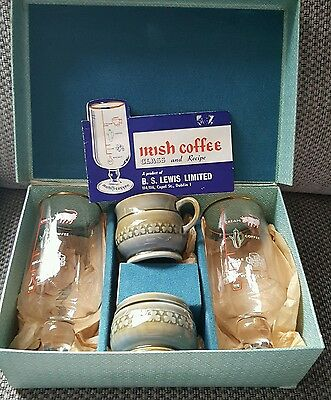 1950s IRISH COFFEE SET FROM DUBLIN