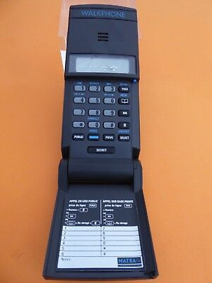 """Le """"walkphone  """"matra Telephone Nomade  Pour Collection"""