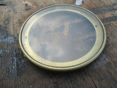 Antique Clock Face No Numbers
