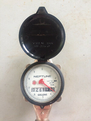 Neptune 5/8 T-10 Direct Read Water Meter wm19  094 NSF61