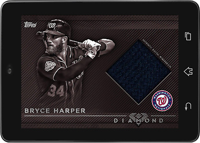 Topps BUNT Bryce Harper RELIC Diamond 2018 Wave 2 [DIGITAL CARD]