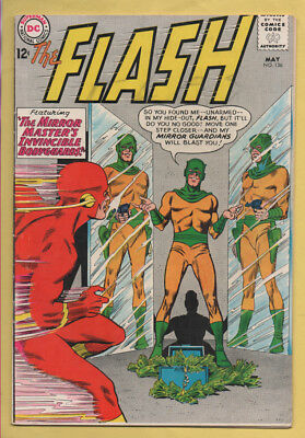 The Flash #136 May 1963, DC, 1959 Series VG+