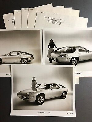 1978 Porsche 928 Coupe VofA issued Press Release RARE!! Awesome L@@K