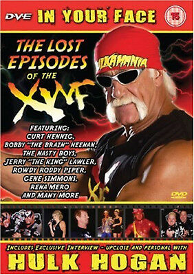 Hulk Hogan In Your Face The Lost Episodes Of The XWF DVD NEW SEALED wwe wwf wcw