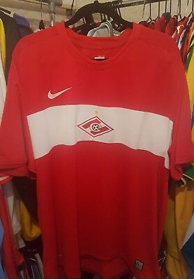 Spartak Moscow Football Shirt 2009/10 Home XXL ~