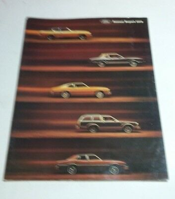 Ford Motor Company Annual Report 1973 1976 1977 1978 1979 Brochures