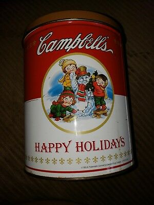 CAMPBELL'S SOUP TOMATO SOUP CAN REPLICA Popcorn Tin