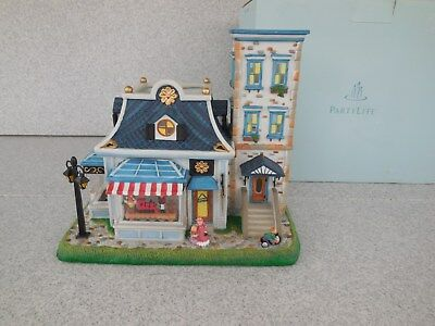 Nos / Partylite P8198 Olde World Village Toy Shoppe Tealight House #6 / Prompt