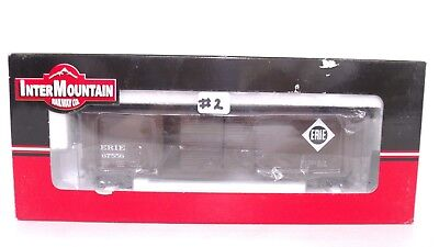 InterMountain HO Erie E Rd# 67556 50' Double Door Train Box Car 45609-13 NEW #2
