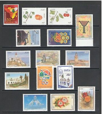 ALGERIA: No.04 / GOOD VALUE LOT OF MODERN ISSUES / Full Sets- All  MNH