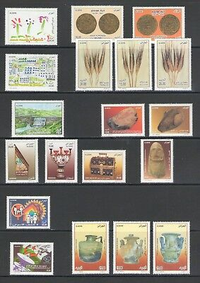 ALGERIA: No.08 / GOOD VALUE LOT OF MODERN ISSUES / Full Sets- All  MNH