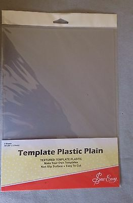Template Plastic pack of 2 sheets 297 x 210mm