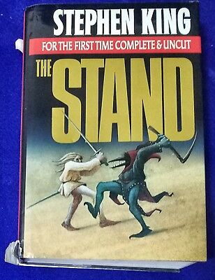 Stephen King The Stand Complete & Uncut. In Dust Jacket  #A