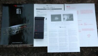 Nakamichi Remote Control Re-3Rc Manuals For Amp