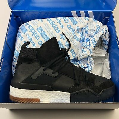 low priced df57e 896d2 Adidas Alexander Wang AW Bball Boost Black AC6847 Rare Size 12.5 New With  Box