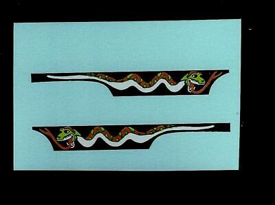 MATCHBOX SUPERFAST 70c DODGE DRAGSTER TRANSFERS/DECALS