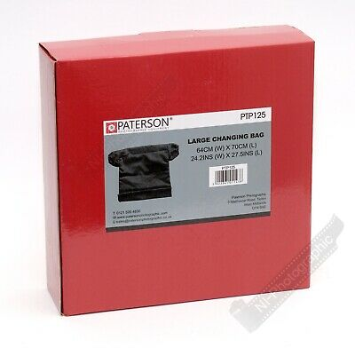 Paterson Photographic Darkroom Large Changing Bag  (PTP125) Free Recorded Post
