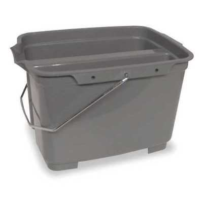 Pail,4-3/4 gal.,Gray TOUGH GUY 1ELK4