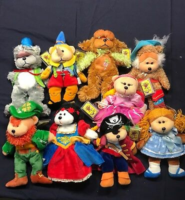 BEANIE KIDS WITH TAGS. Nine Of The Story Book Collection
