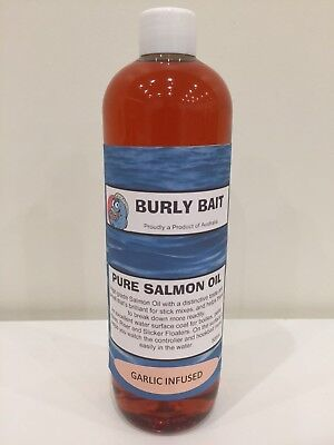 Burly Bait Fish Garlic Salmon Oil Attractant Boilies Burley Dip Stick Spod 250ml