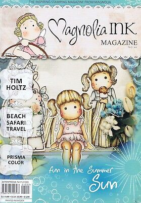MAGNOLIA INK Magazine No 3 2010 Paper Crafts Stamping Beach Travel Summer Themes