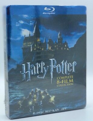 Harry Potter Complete 8-Film Collection (Blu-ray Disc, 2011; 8-Disc Set) NEW
