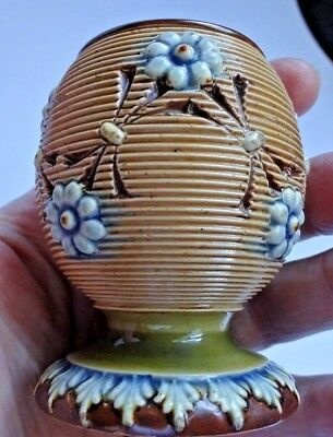 Antique Art Nouveau Lambeth Doulton Stoneware Match Striker