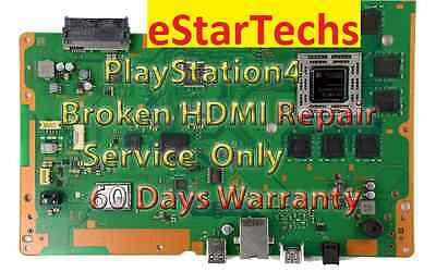 PS4 Sony Playstation 4   DEFECTIVE (broken)  HDMI port ((Repair Service)) !!!!!