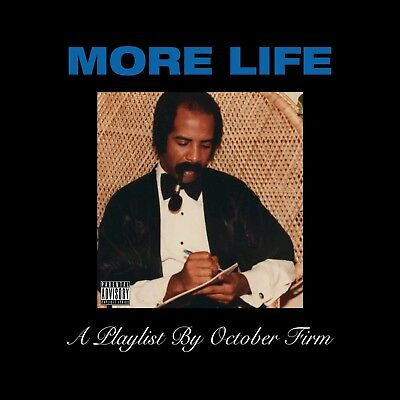 Drake - More Life: A Playlist By October Firm (Mix Cd)