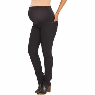 Great Expectations Maternity Full Panel Jeggings Skinny Jeans Black