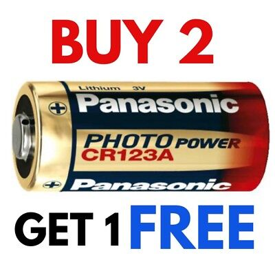 1 x CR123a Energizer 3v Lithium Photo Battery DL123A CR17345 Camera CR123 New