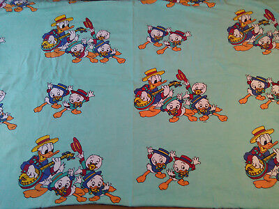 Bettwäsche Donald Duck Tick Trick Track Disney 80er 90er Patchwork