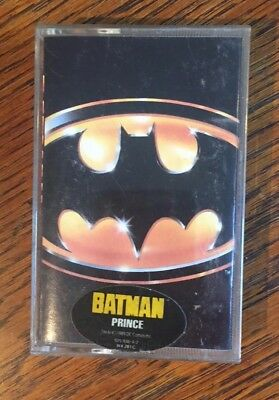 Batman -Prince - Motion Picture Soundtrack  - Kassette/MC - WB - 1989