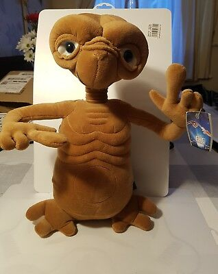 ET The Extra Terrestrial Talking Light-Up Plush Toy 14 inches tall approximately
