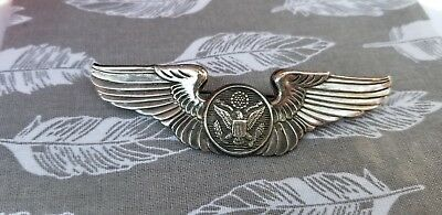 "WW2 Army Air Corps AAC 3"" Aircrew Wing Sterling"