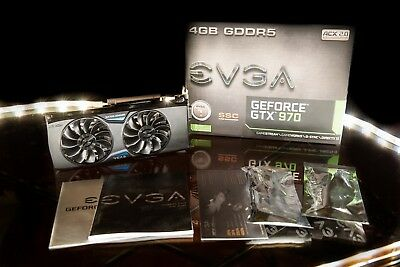 EVGA GeForce GTX 970 SSC GAMING ACX 2.0+ (4 GB) (04G-P4-3975-KR)