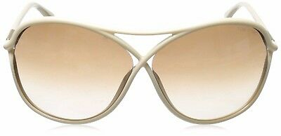 NWT Authentic Tom Ford Sunglasses TF 184 Vicky 25G Ivory Gold FT0184 MSRP:390+tx