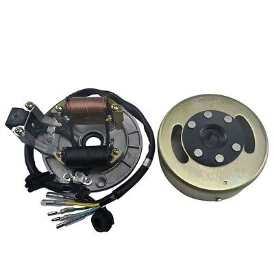 Lifan 125cc Magneto Stator Flywheel Rotor Parts For Pit Bikes Motorcycle