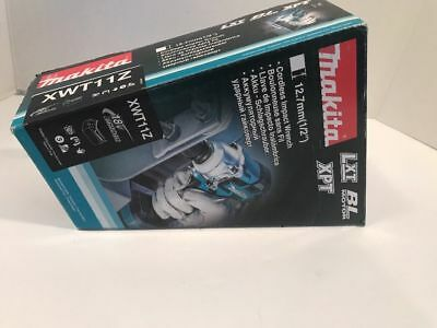 Makita XWT11Z 18V Brushless Cordless 3Speed 1/2-Inch Impact Wrench,Tool Only NIB