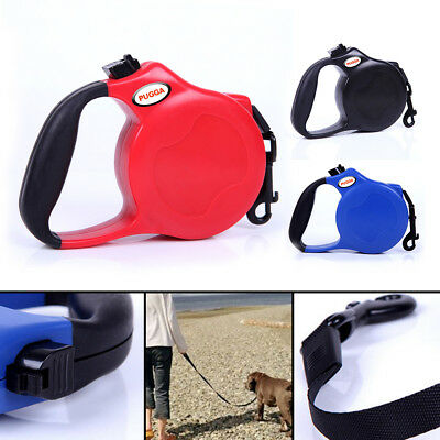 Retractable Dog Cord Lead Extendable Leash Pet Training 8M Heritage Dogs