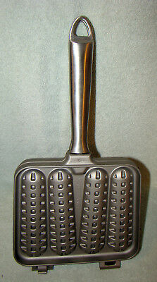 Nordic Ware Waffle Stick Pan by Williams Sonoma Cast Aluminum Dippers
