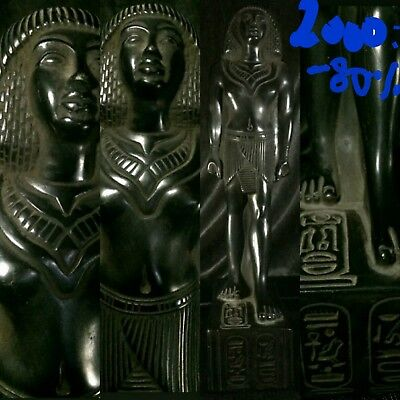 low outbid1$!!!!RARE ANCIENT EGYPTIAN STATUE ANTIQUITIES PHARAOH KING RAMESSES!!