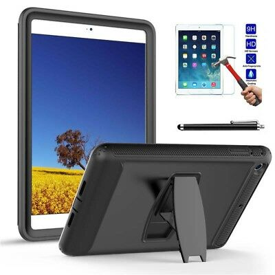 Heavy Duty Kids Hybrid Shock Dirt Proof Case Cover For Apple New iPad 2018 9.7in