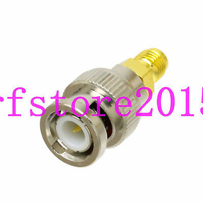 Adapter BNC male to RP-SMA female connector for Oscilloscope Radio AP SDI GPS