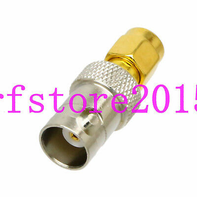 Adapter BNC female to RP-SMA male RF connector for Oscilloscope Radio SDI AP GPS