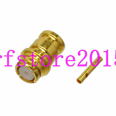 Connector SMP Female RG405 0.086 Semi-rigid cable 50ohm Straight SV microwave