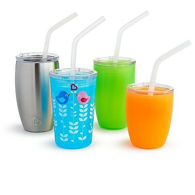 Munchkin Sippy and Straw Lids for Miracle 360 Cups, 3 Piece Set