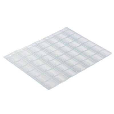 10 / Pack Money Stamp Protect Sleeve Album Album Clear PVC Inside Pages 42
