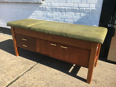 Vintage style Examination Bench with storage. Reduced - Reduced - Reduced