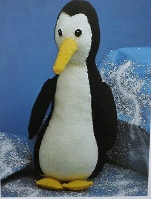 Vintage 1960s70s Toy Penguin Knitting Pattern 215 Picclick Uk